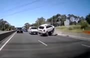 Agresif SUV Sürücüsü Trafiği Birbirine Kattı