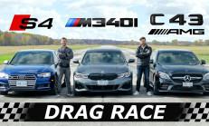 Hangisi Geçer? Audi S4 – BMW M340i – Mercedes-AMG C43