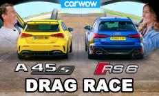 Hangisi Geçer? Audi RS6 – Mercedes-AMG A45 S