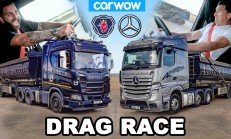 Tırlar Yarışıyor? Mercedes Actros – Scania R500