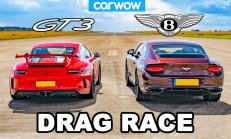 Hangisi Geçer? Porsche 911 GT3 – Bentley Continental GT