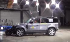 2020 Yeni Land Rover Defender Euro NCAP Sonuçları Açıklandı