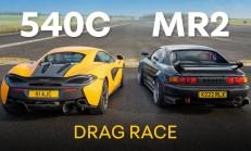 Hangisi Geçer? 600 Beygirlik Toyota MR2 – McLaren 540C