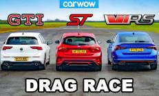 Hangisi Geçer? VW Golf 8 GTI – Ford Focus ST – Skoda Octavia vRS