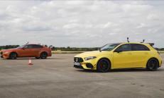 Hangisi Geçer? Mercedes-AMG A45 S – Jaguar Project 8