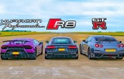 Hangisi Geçer? Audi R8 – Lamborghini Huracan –