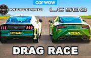 V8 Savaşı: Ford Mustang – Lexus LC500