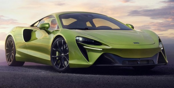 680 PS'lik 2022 McLaren Artura Teknik Özellikleri Açıklandı