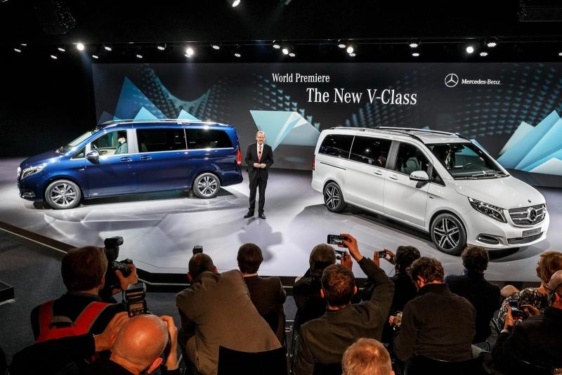 2014 Yeni Mercedes V Serisi Dünya Prömiyeri