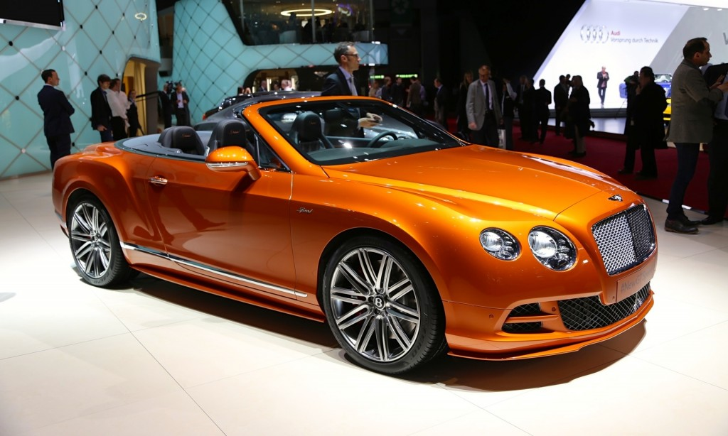 2015 Bentley Continental Gt Speed Convertible Cenevre De