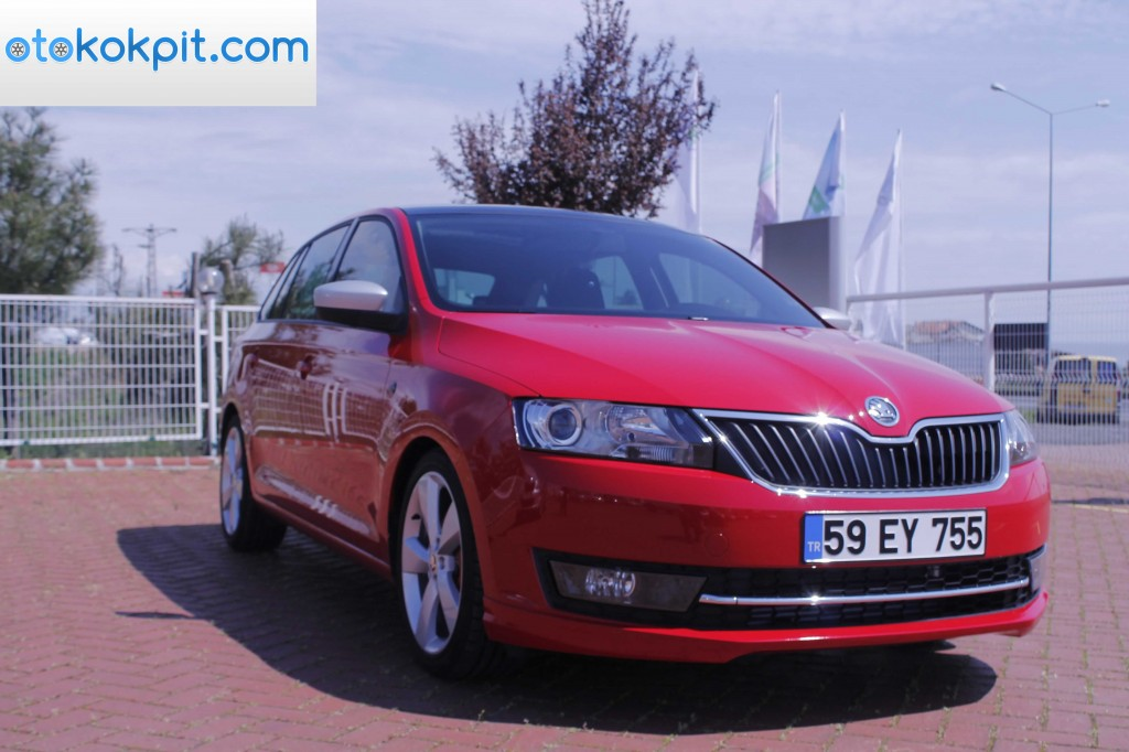 Skoda Rapid Spaceback 1.6 TDİ DSG-1