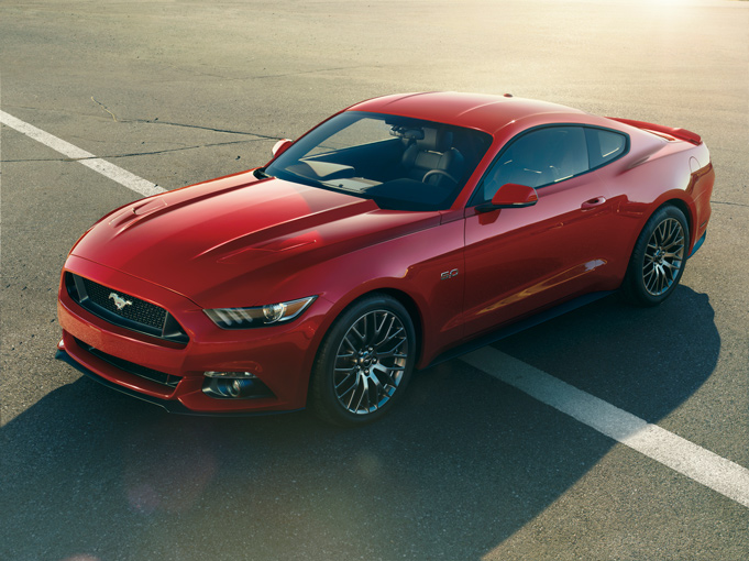 2015 Yeni Kasa Ford Mustang-1
