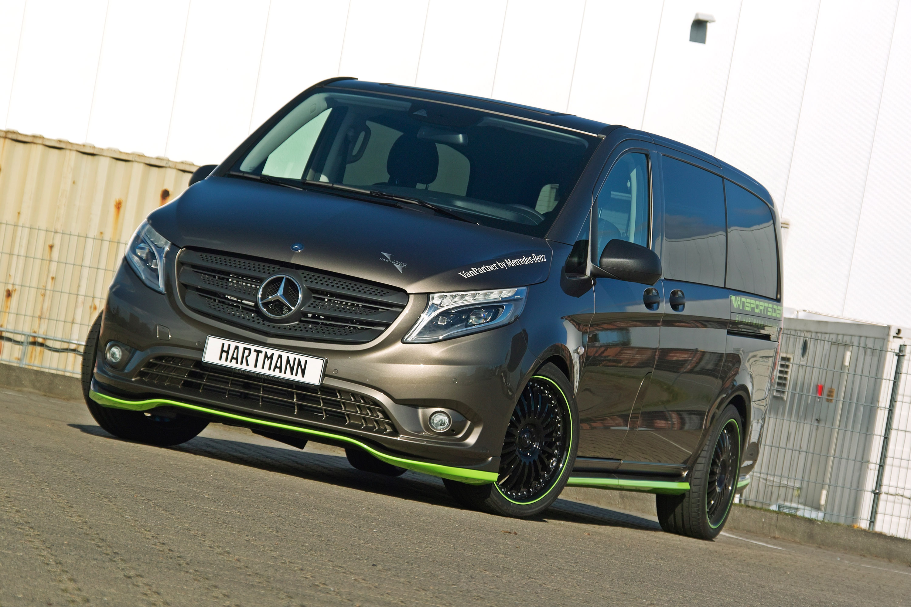 hartmann tuning 2014 yeni mercedes vito. Black Bedroom Furniture Sets. Home Design Ideas