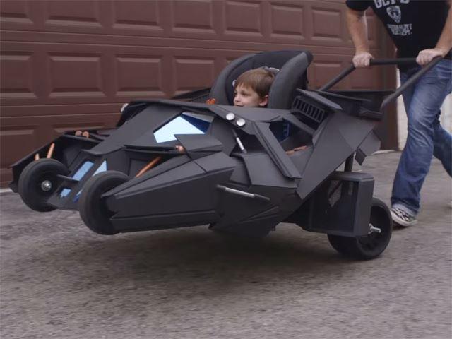 Bu Da Batmobile Bebek Arabası Oto Kokpit