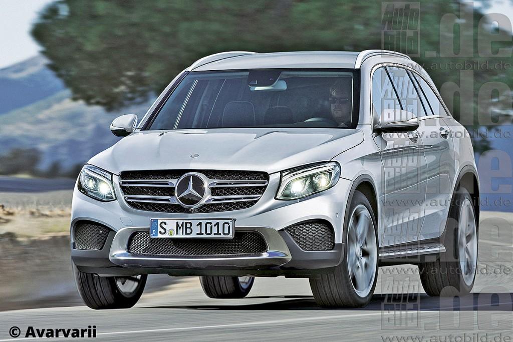 2016 Yeni Kasa Mercedes GLC Serisi