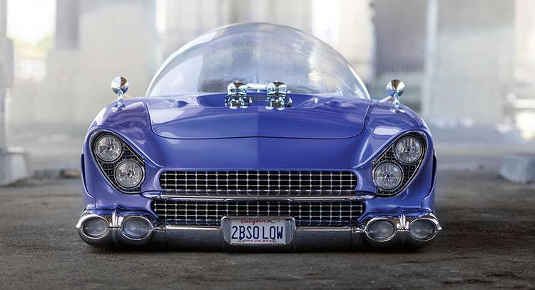 Sıradanlığın 214 Tesindeki Ara 231 1955 Ford Beatnik Bubbletop