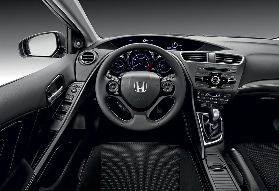 2015 Yeni Honda Civic Hatchback Oto Kokpit