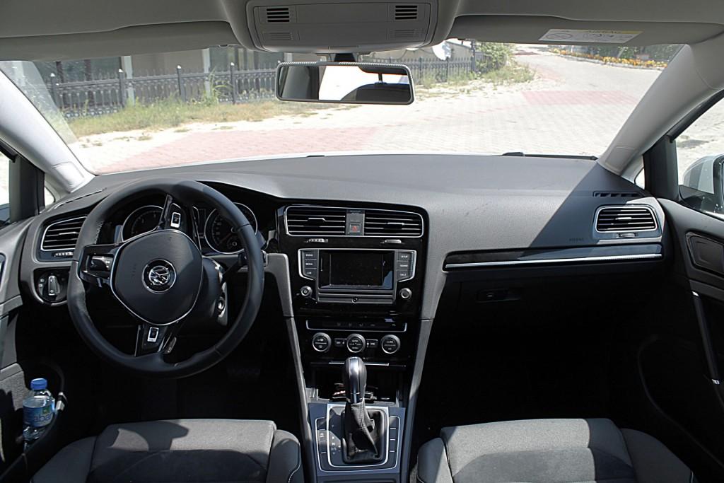 2015 yeni volkswagen golf 7 tdi dsg comfortline testi - oto kokpit