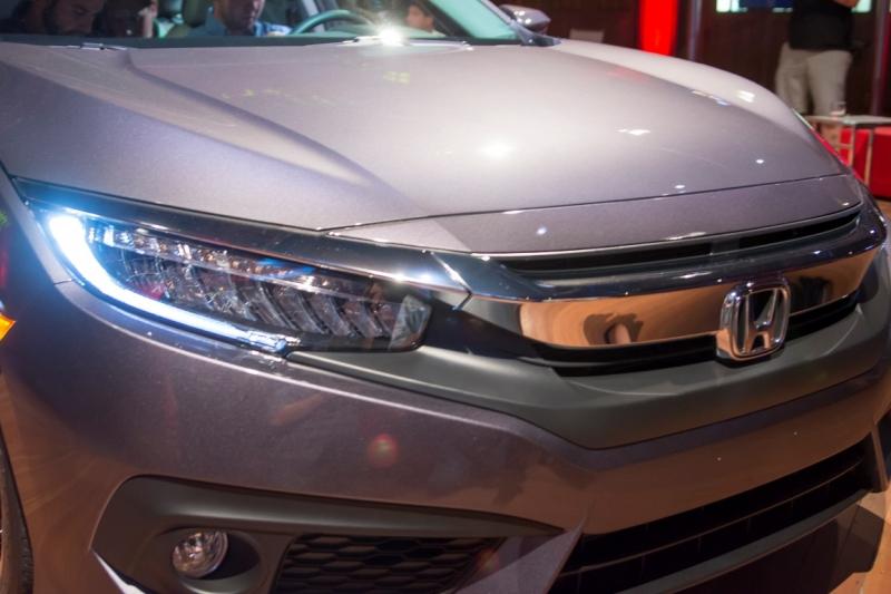 2016 Yeni Kasa Honda Civic Sedan Tanıtıldı - Oto Kokpit