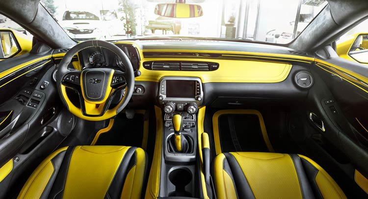 Carlex Design Chevrolet Camaro Oto Kokpit