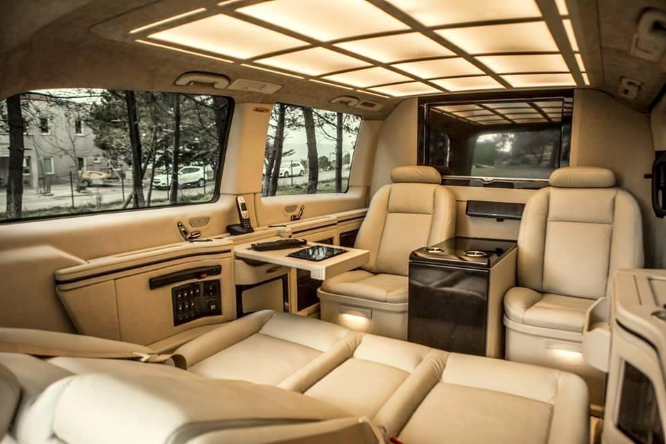 Haşhaş Vip Design 2015 Mercedes Vito Tourer 119 Bluetec