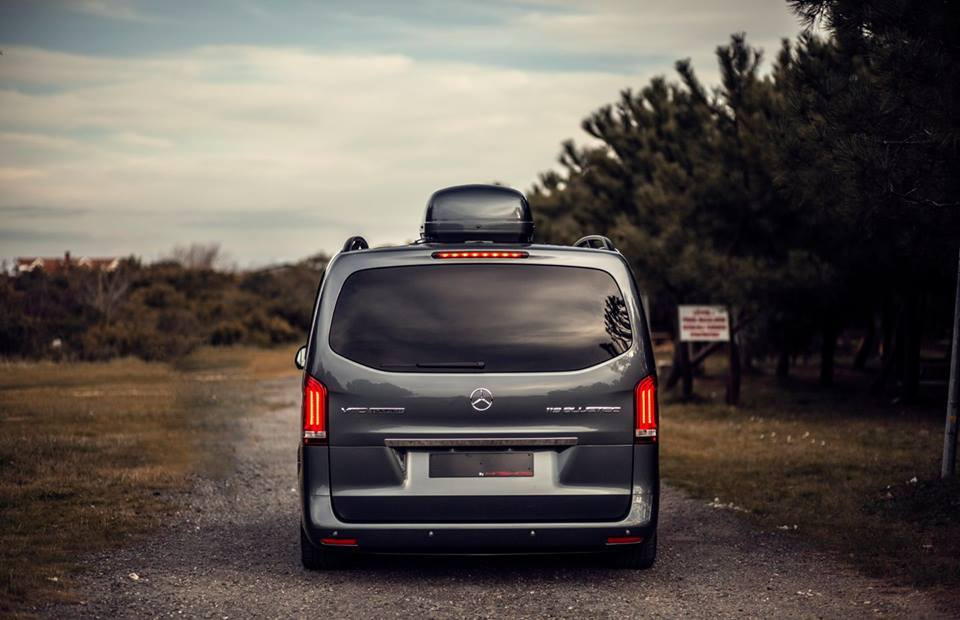 Haşhaş Vip Design 2015 Mercedes Vito Tourer 119 Bluetec Oto Kokpit