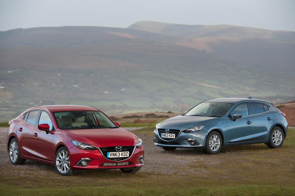 Mazda 3'e Yeni 1.5 lt Dizel Skyactiv Motor Takviyesi