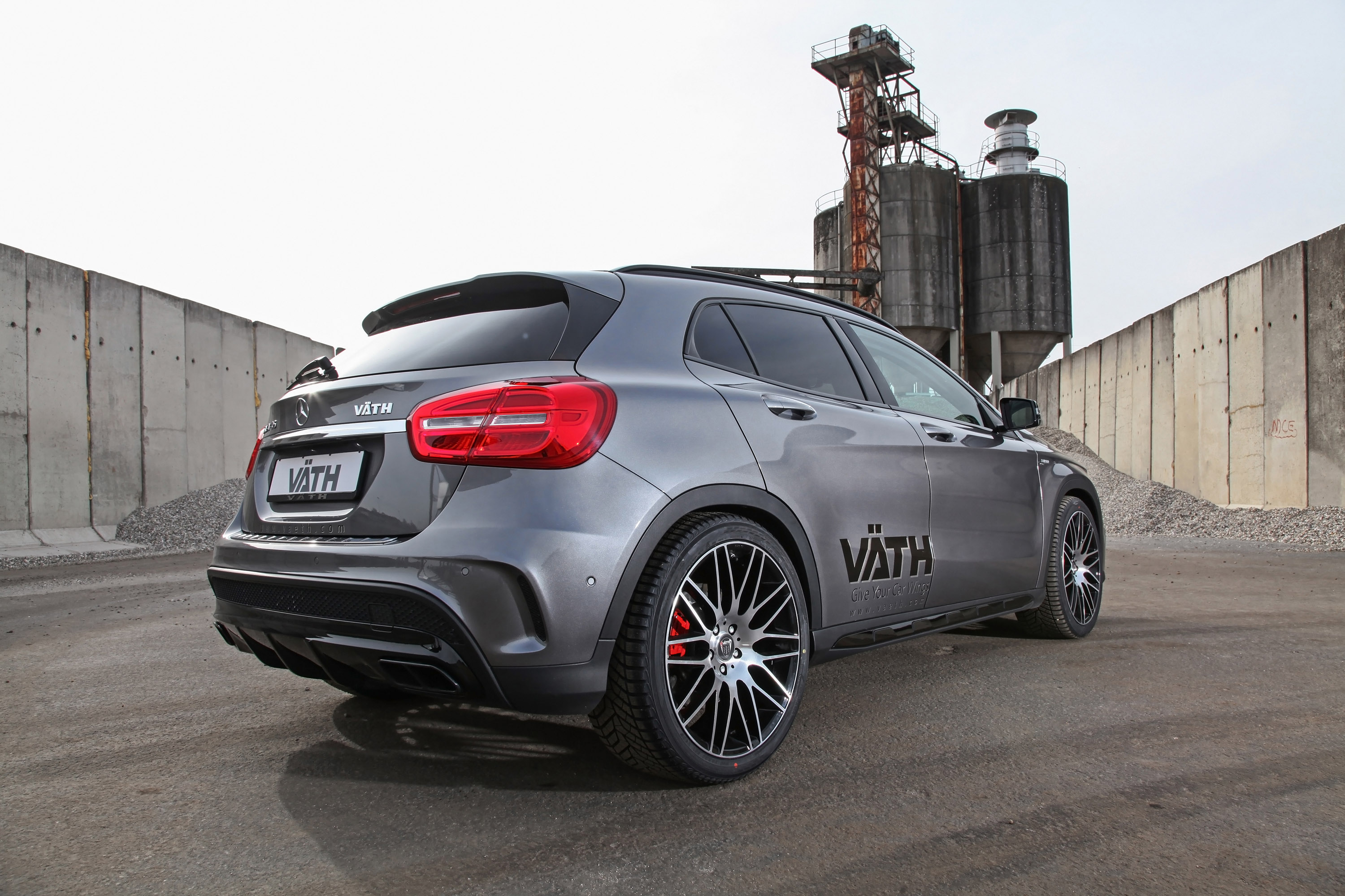 Mercedes Benz Gla 45 Amg Ye V 196 Th Tuning Dokunuşu
