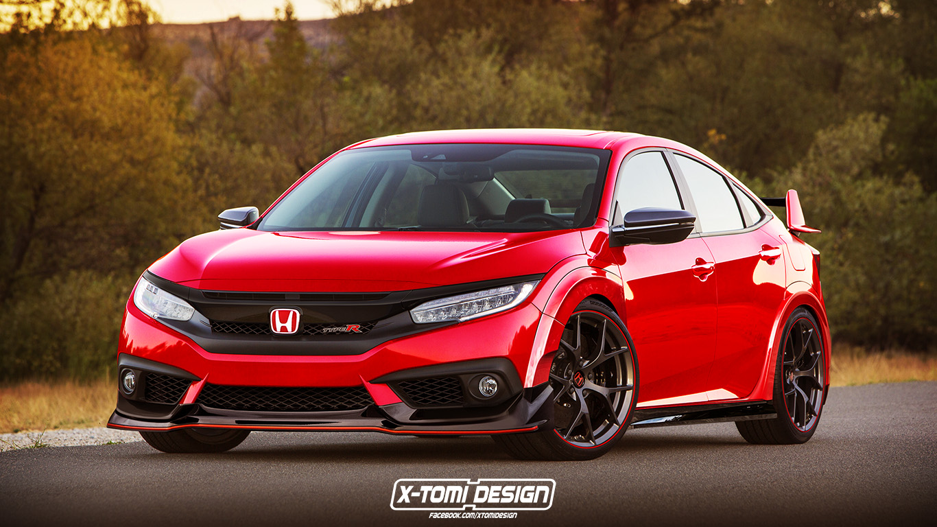 2017 Yeni Honda Civic Sedan Type-R Desem? - Oto Kokpit