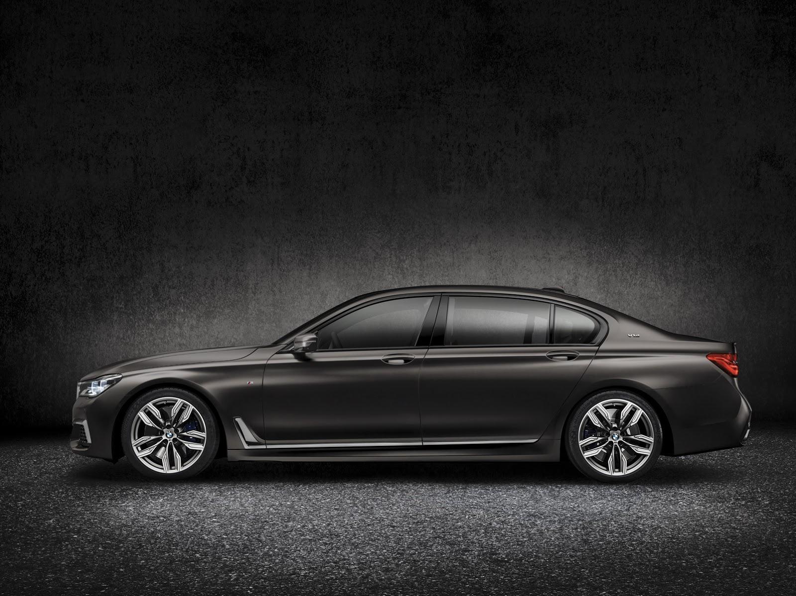 2016 Yeni Kasa BMW M760Li xDrive Teknik Özellikleri