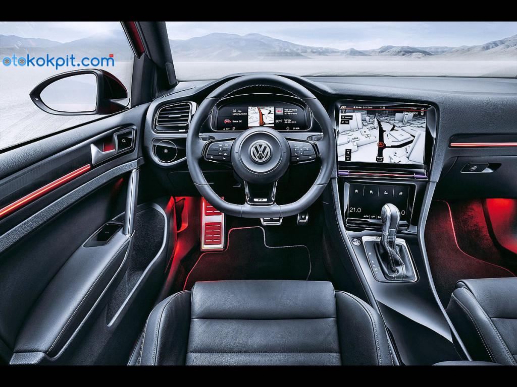 2018 Yeni Kasa Volkswagen Golf 8 İç Mekanı Nasıl Olacak?