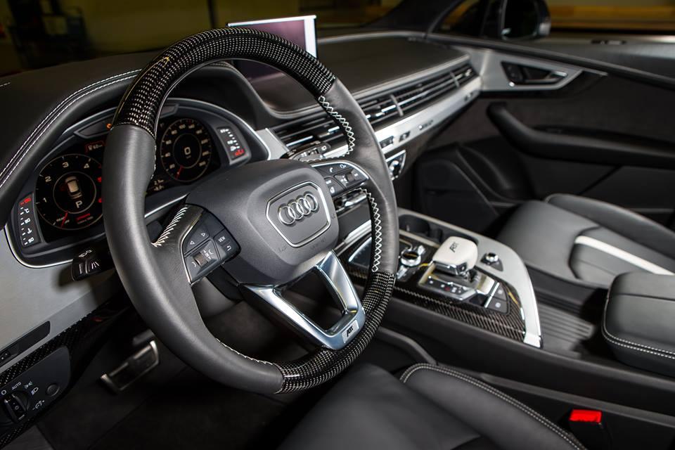 Abt Tuning 2016 Yeni Audi Qs7 Oto Kokpit