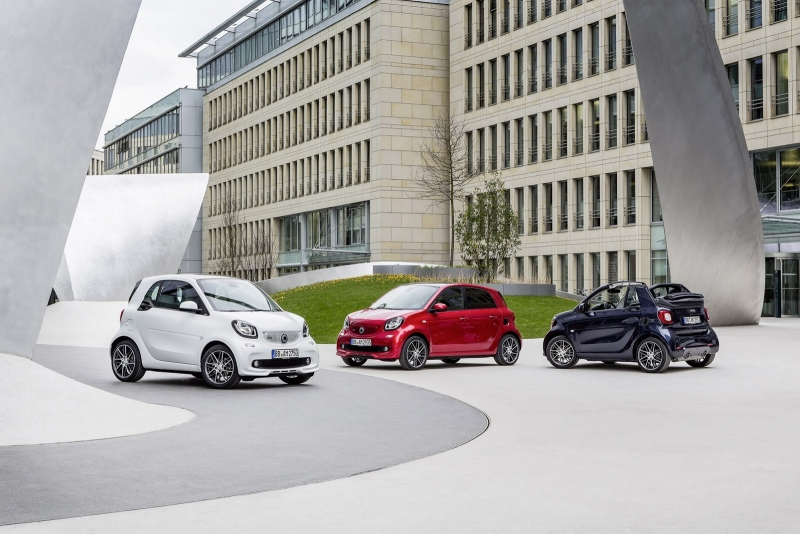 2016 Smart Brabus Fortwo ve Forfour