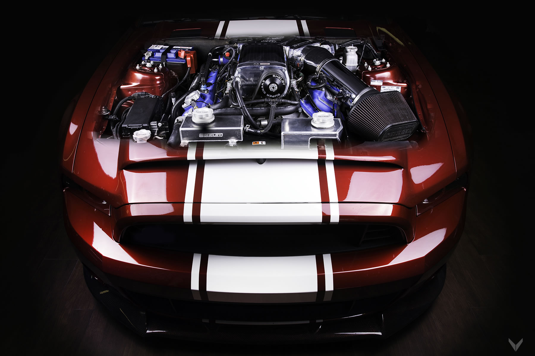 2016 Vilner Shelby Mustang Gt500 Super Snake Oto Kokpit