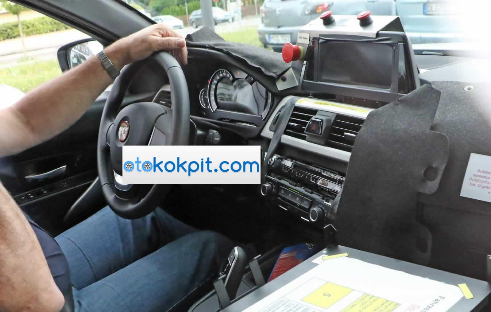 2018 Yeni Kasa BMW 3 Serisi İç Mekanı