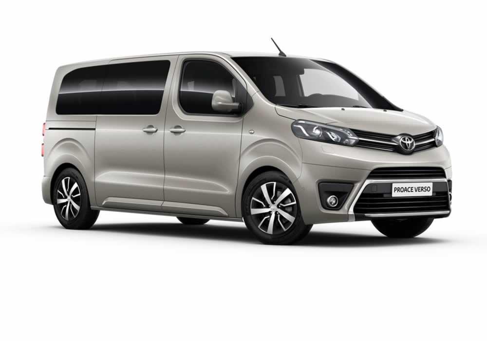 Yeni Toyota Proace Verso 2017