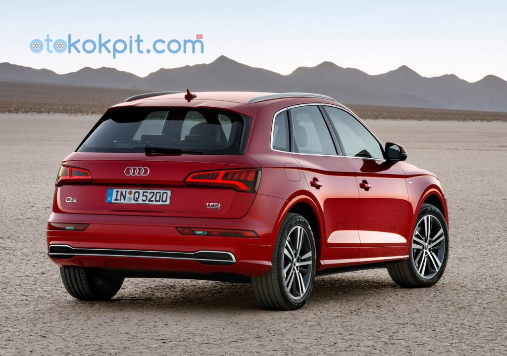 2017 Yeni Kasa Audi Q5 Özellikleri