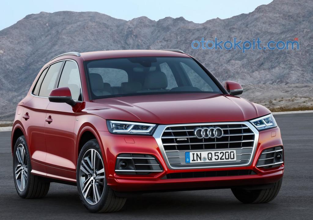 2017 Yeni Kasa Audi Q5 Donanımları