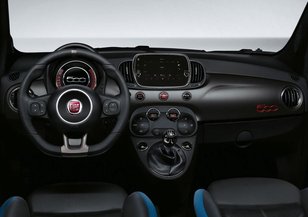 2017 Yeni Fiat 500S İçi