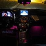 Mercedes CLA 180 CDi AMG İç Ambiyans Aydınlatma