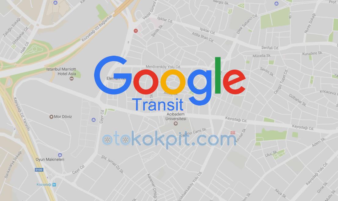 Google Transit Türkiye