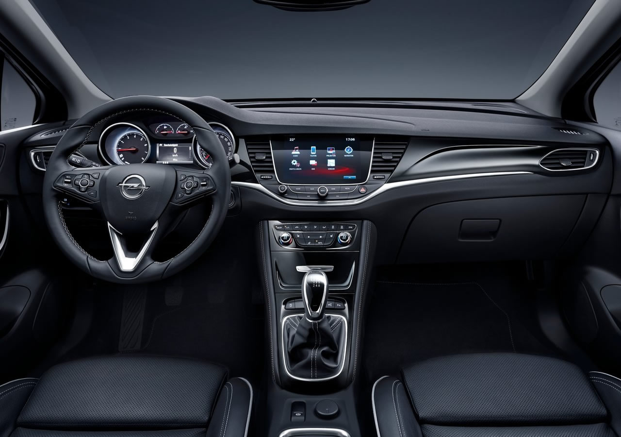 Yeni Opel Astra K Kokpiti Oto Kokpit