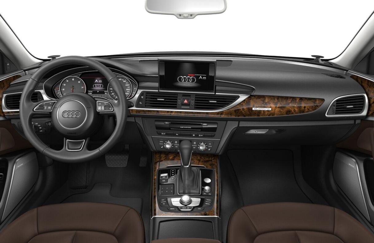 2017 Yeni Audi A6 Kokpiti