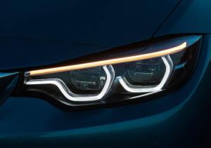 Makyajlı 2017 BMW 4 Serisi Led Far