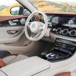 2017 Yeni Mercedes E180 İçi