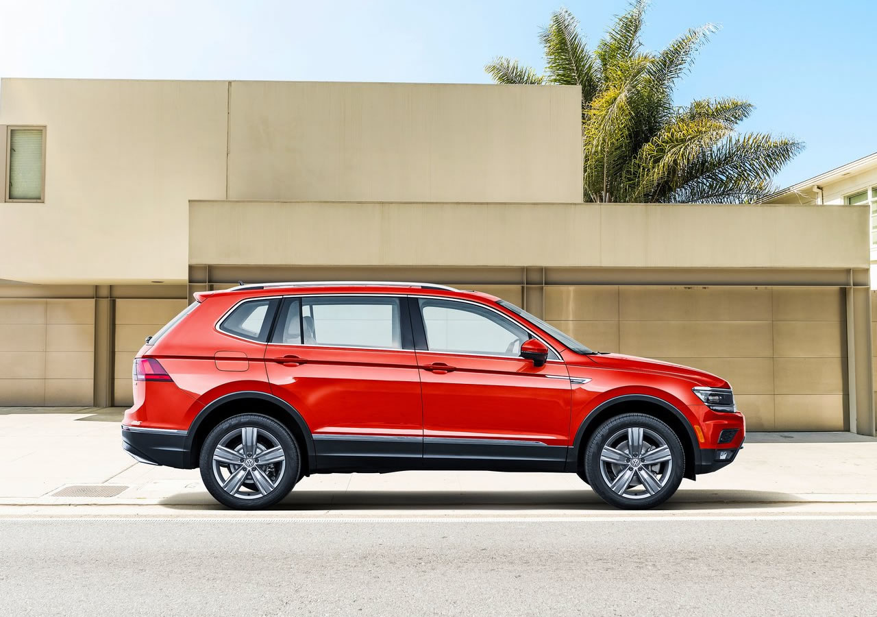 2018 Volkswagen Tiguan Allspace Özellikleri