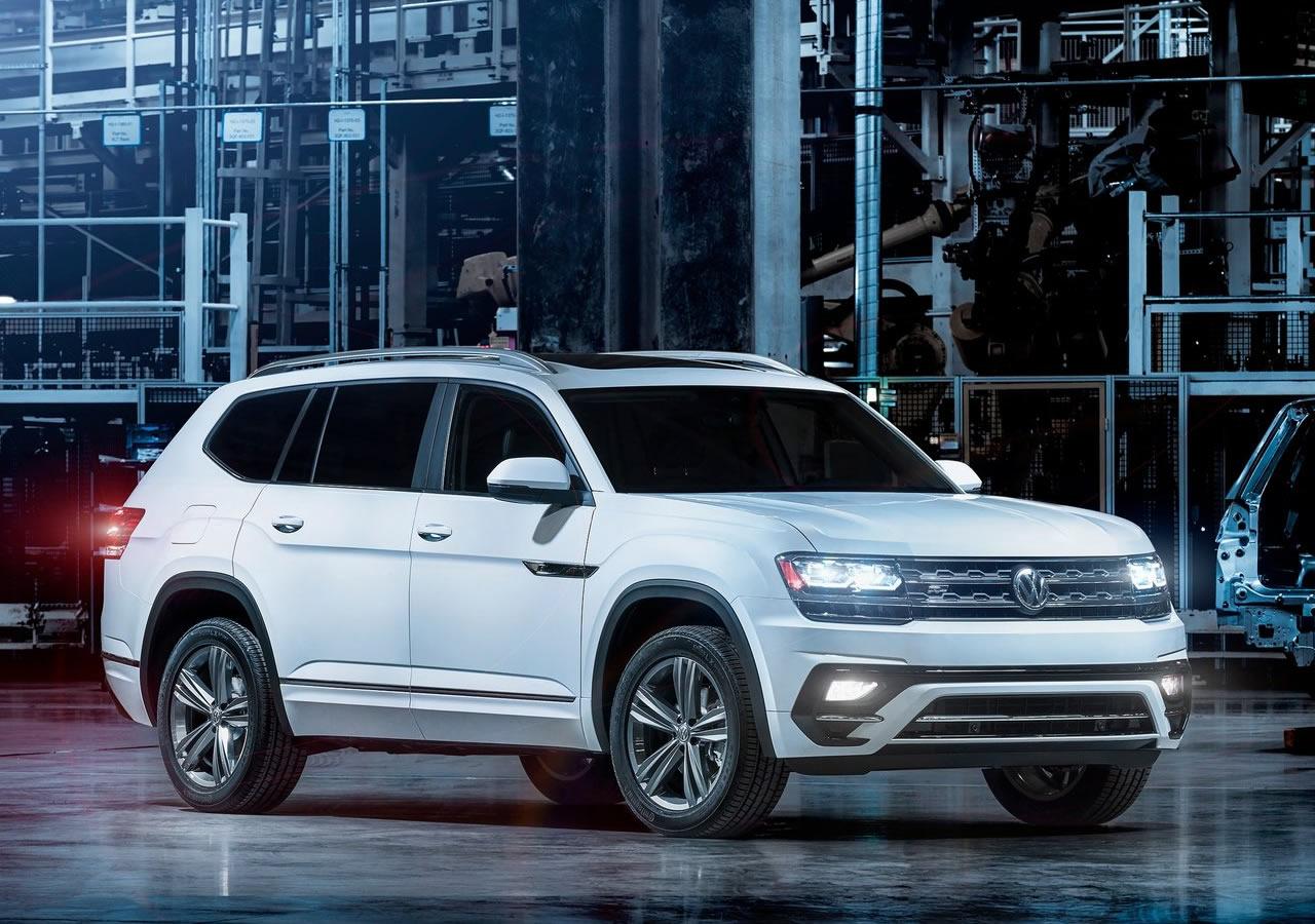 2018 Yeni Volkswagen Atlas R-Line