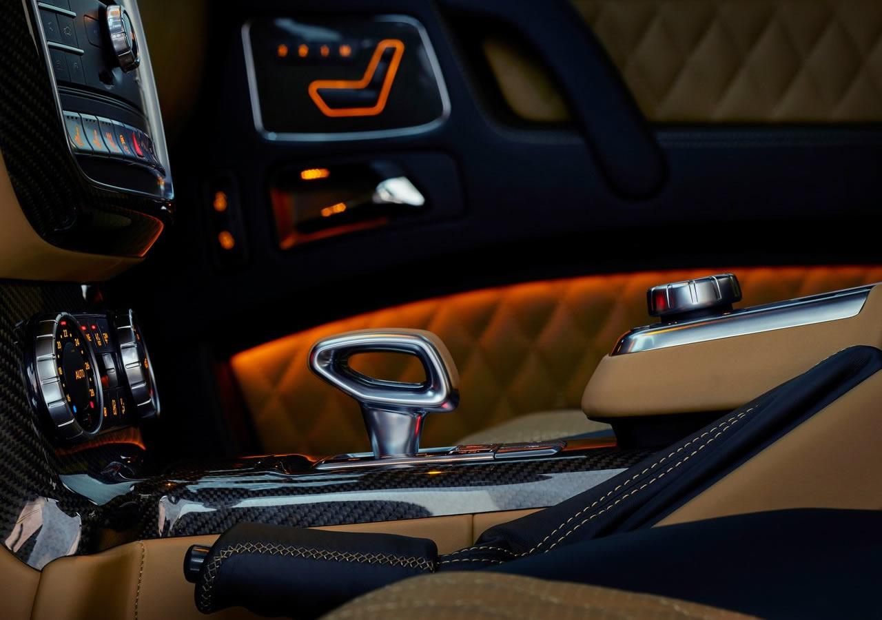 Mercedes-Benz G650 Maybach Landaulet İçi