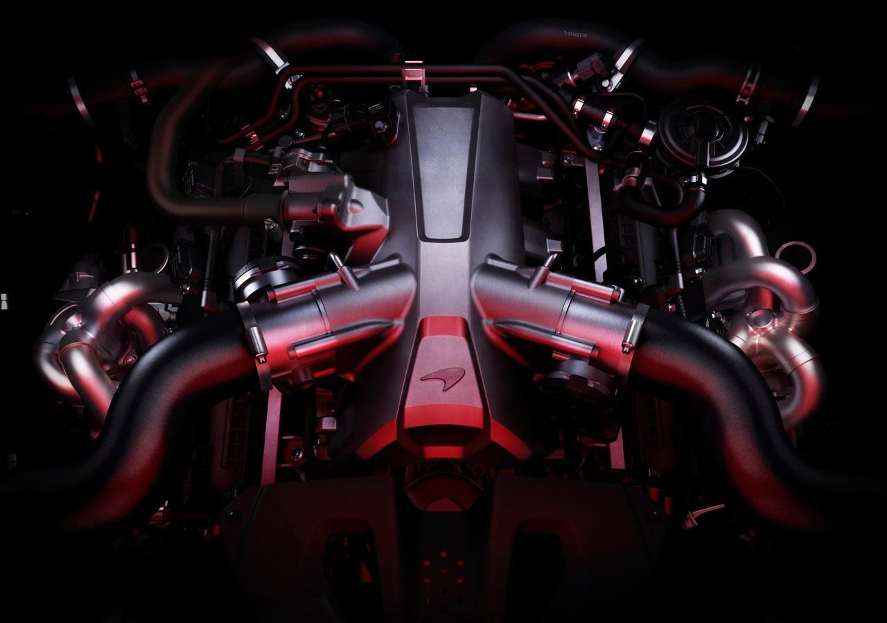 McLaren 720S Motoru