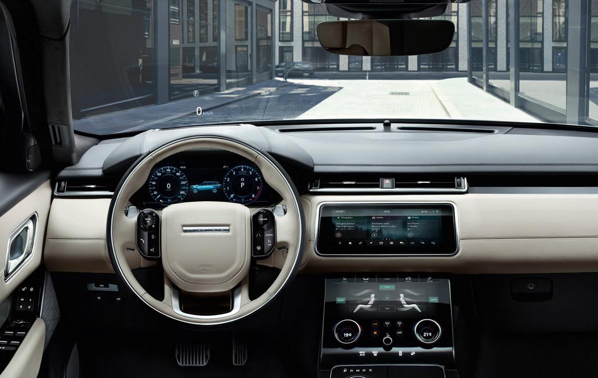 Yeni Range Rover Velar Kokpiti